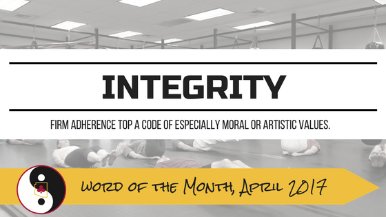 Word of the Month: Integrity