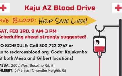 Why You Should Donate Blood on February 3rd at Kaju AZ